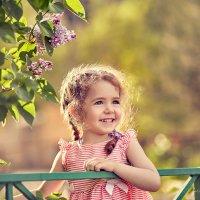 Про девочку, которая очень не хотела фотографироваться. :: Наталья Мячикова
