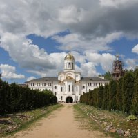 Николо-Столобенский монастырь :: Ирина Котенева