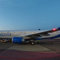 Новый Embraer ERJ-195LR (ERJ-190-200 LR) Белавиа. 19 мая 2018 года :: Сергей Коньков