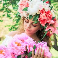 Каждая девушка символизирует цветок.А какой цветок символизируете вы :: Tatyana Zholobova