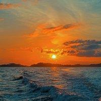 Закат.Папуа. :: Александр