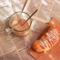 А что у вас на завтрак? :: Наталья Казанцева