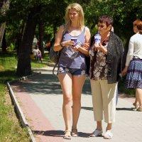 Прогулка по парку. :: barsuk lesnoi