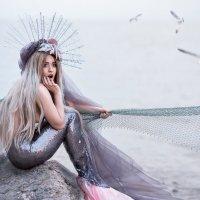 Русалка в сетях :: Galina Zabruskova