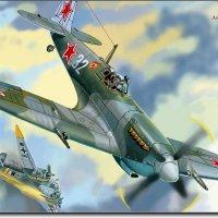 Воздушный бой. (работа выполненная на графическом планшете Huion.) № 24 :: Anatol Livtsov