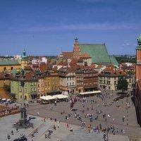 Пейзаж старой Варшавы :: M Marikfoto