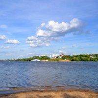 Ока встречает Москва-реку. :: Геннадий