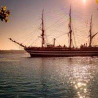 В нашу гавань заходили корабли... :: Анна Пугач