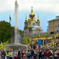 Петродворец. Открытие фонтанов :: Владимир Ильич Батарин