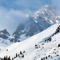 Вечером в горах :: Горный турист Иван Иванов