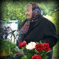 С цветами и старость в радость ! :: Любовь
