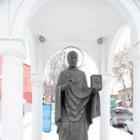 Часовня в городе - святой Николай :: Владимир Немцев