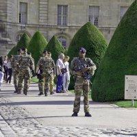 На страже французского порядка :: Александр Рябчиков