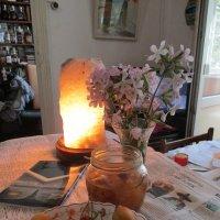 Гламур: утро красит нежным цветом все, что встретит на столе... :: Алекс Аро Аро