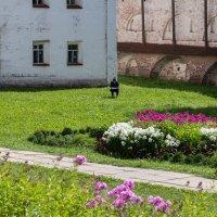Пленэйр в стенах старого монастыря :: Татьяна Копосова