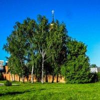 храм в березках :: Юлия Денискина