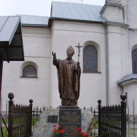 Памятник   Иоанну - Павлу   Второму   в   Надворной :: Андрей  Васильевич Коляскин