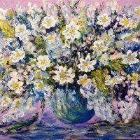 Цветы в вазе :: Анатолий Цыганок