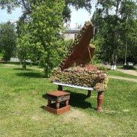 Зелёный рояль. :: Ярославна