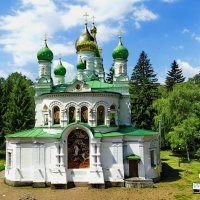 *Церковь на поле Полтавской битвы. :: vodonos241
