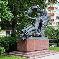 Москва... Скульптура «Аллегория воздуха» :: Galina Leskova