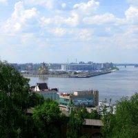 Нижний Новгород. Вид из Кремля :: Марина Таврова