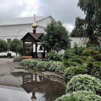 Прошел июньский дождь, в Казанском монастыре Ярославля :: Николай Белавин