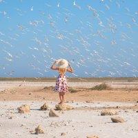 Анна и чайки :: Алексей Яковлев