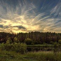 Всполохи заката... :: Александр Попович