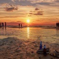Вечер на заливе :: Владимир Колесников