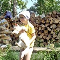 Катюша и Рыжик :: Светлана Рябова-Шатунова