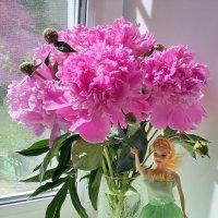 Сами собой cтихи срываются с губ. Цветут пионы.. :: Андрей Заломленков
