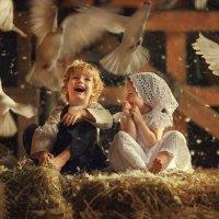 Любовь и голуби :: Татьяна Бурыкина
