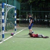 Спор в футболе! :: Татьяна Помогалова