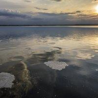 Майский вечер на Нововоронежском водохранилище 2016г :: Юрий Клишин