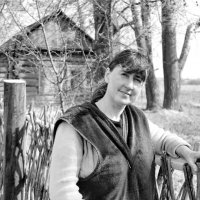 У плетня :: Светлана Рябова-Шатунова
