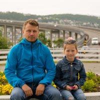 "на фоне ""Моста самоубийц"". Тромсё. Норвегия :: Инта"