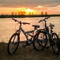 Велосипед и Закат :: Илья Голубков