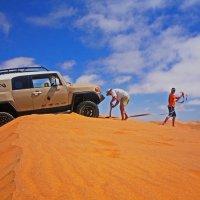 Авторалли через Пустыню Намиб. :: Jakob Gardok