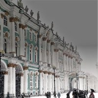 Зима в СПб. :: венера чуйкова