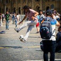 Футбол на Красной площади :: Сергей Федоткин