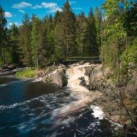 Водопад Ахвенкоски. :: Павел Дунюшкин