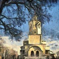 Авраамиевский монастырь. XVII век. :: Aleksandr Ivanov67 Иванов