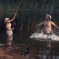 Женская рыбалка :: Александр Сергеев