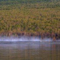 остатки утреннего тумана на Байкале :: Георгий