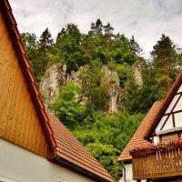 Домики в  скалах  Франконской  Швейцарии :: backareva.irina Бакарева