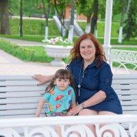 Мама с дочкой :: марина алексеева