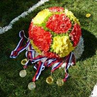 Цветочный футбольный мяч! :: Надежда