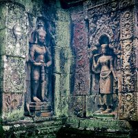 Стены древнего храма. Камбоджа. :: Alex