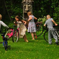 велосипедное лето :: Антонина Мустонен
